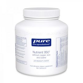 Nutrient 950 without Copper, Iron & Iodine