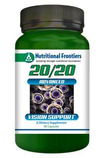 20/20 Eye Formula 90 Veg Capsules
