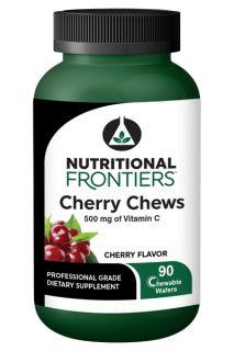 Cherry Chews 90 Chewable Wafers
