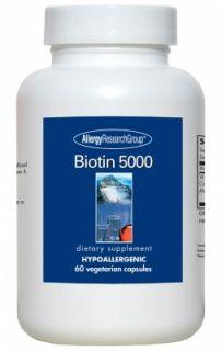 Biotin 5000 60 Vegetarian Caps